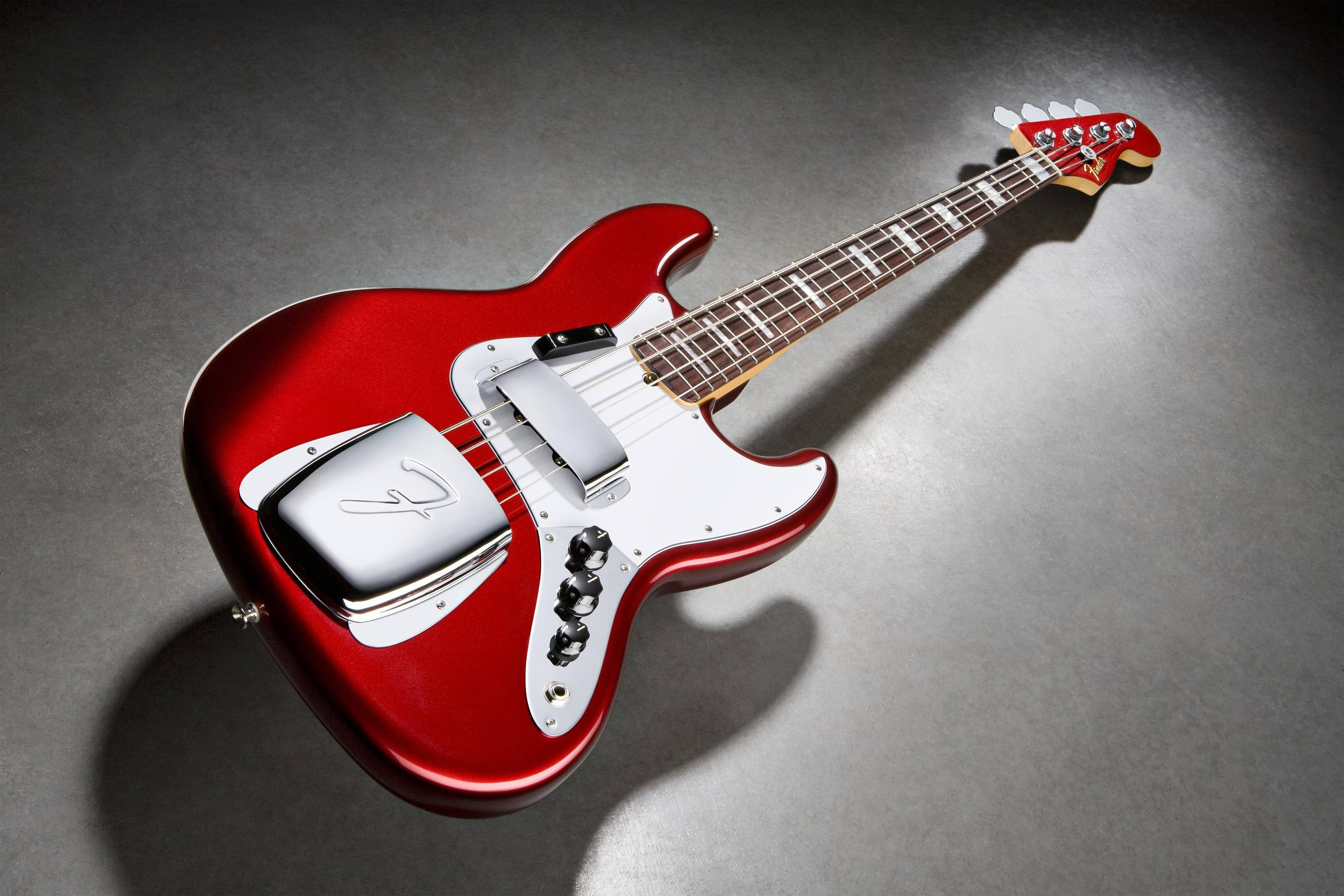 Jazz Bass Guitar Wallpapers