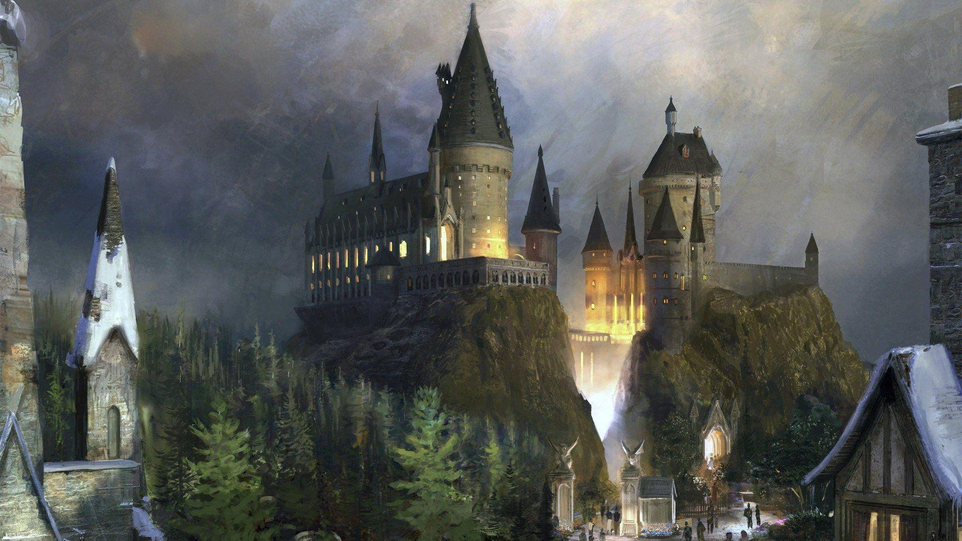 Hogwarts Castle Wallpapers Wallpaper Cave