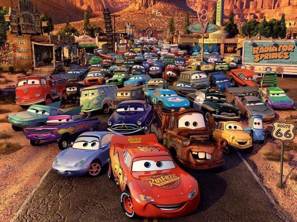Disney Cars Birthday Wallpaper
