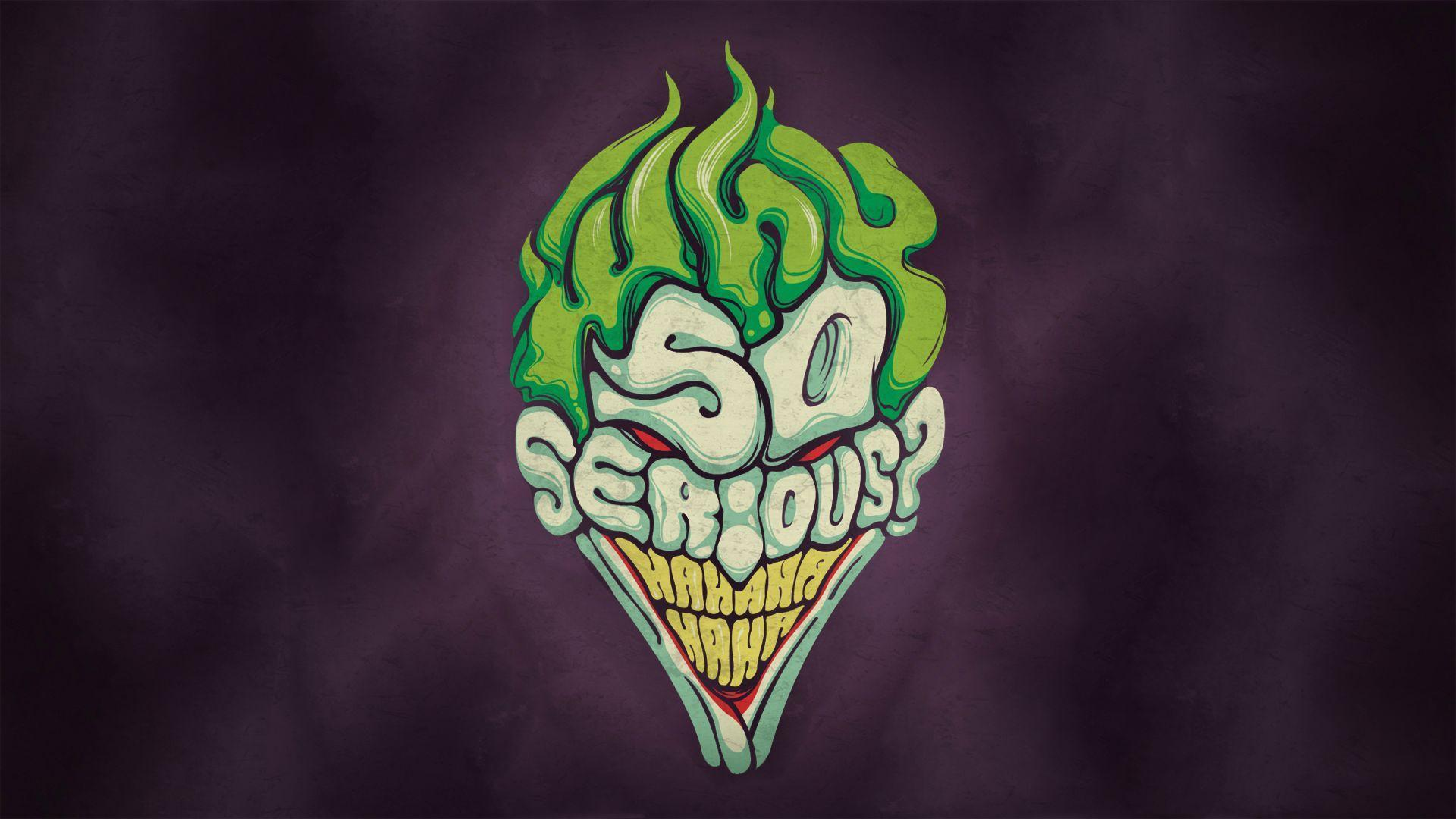 HD Joker Why So Serious Wallpapers