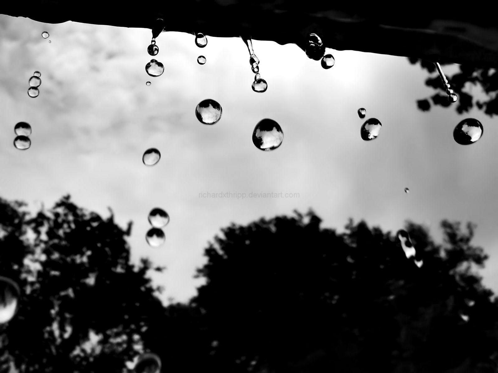 Interesting Rain Drops Wallpapers By Richardxthripp On Deviantart Throughout Decorating Ideas