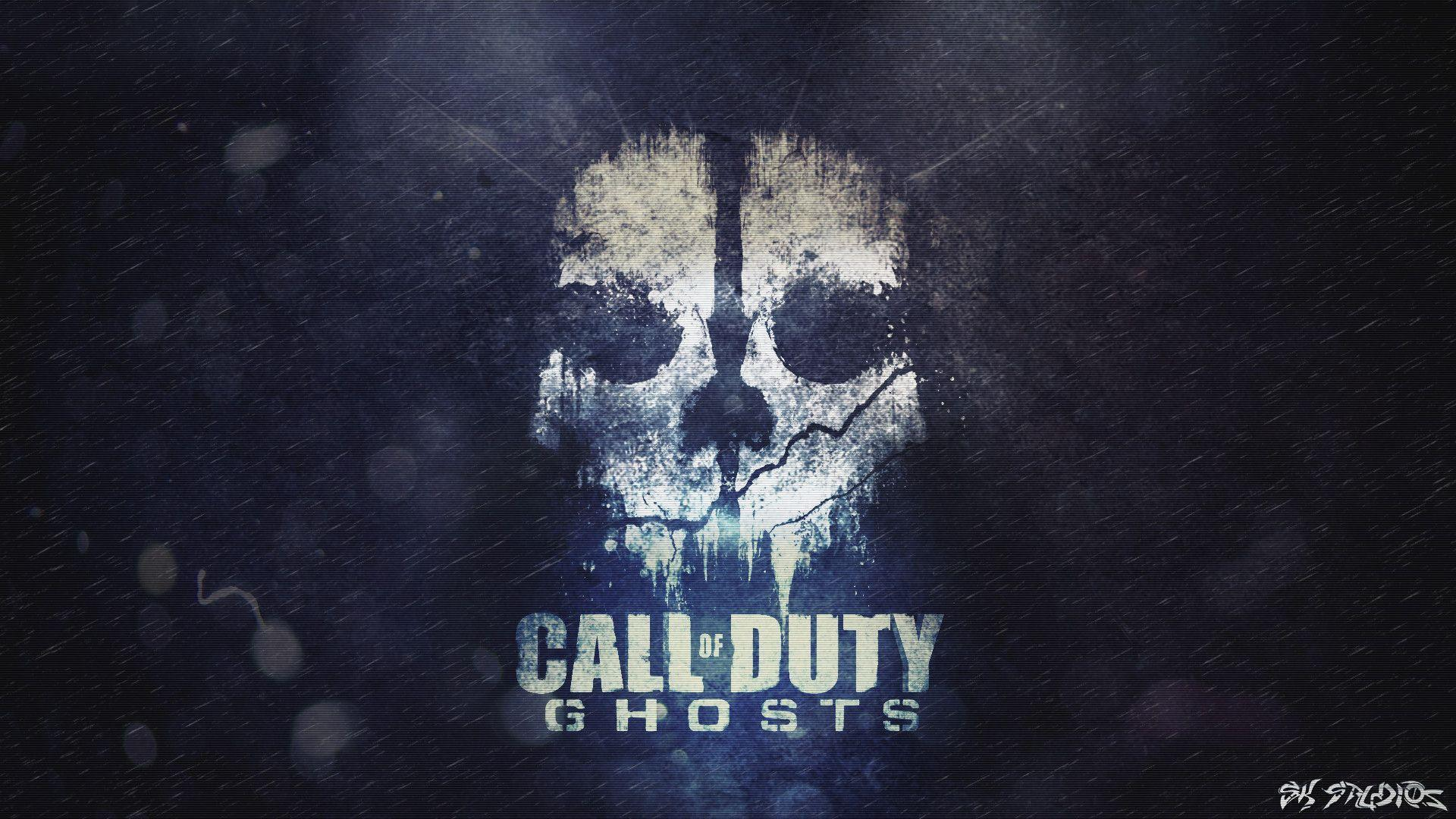 Cod ghost wallpaper wallpaper ideas cod ghosts skull by sk studios design on deviantart sciox Images