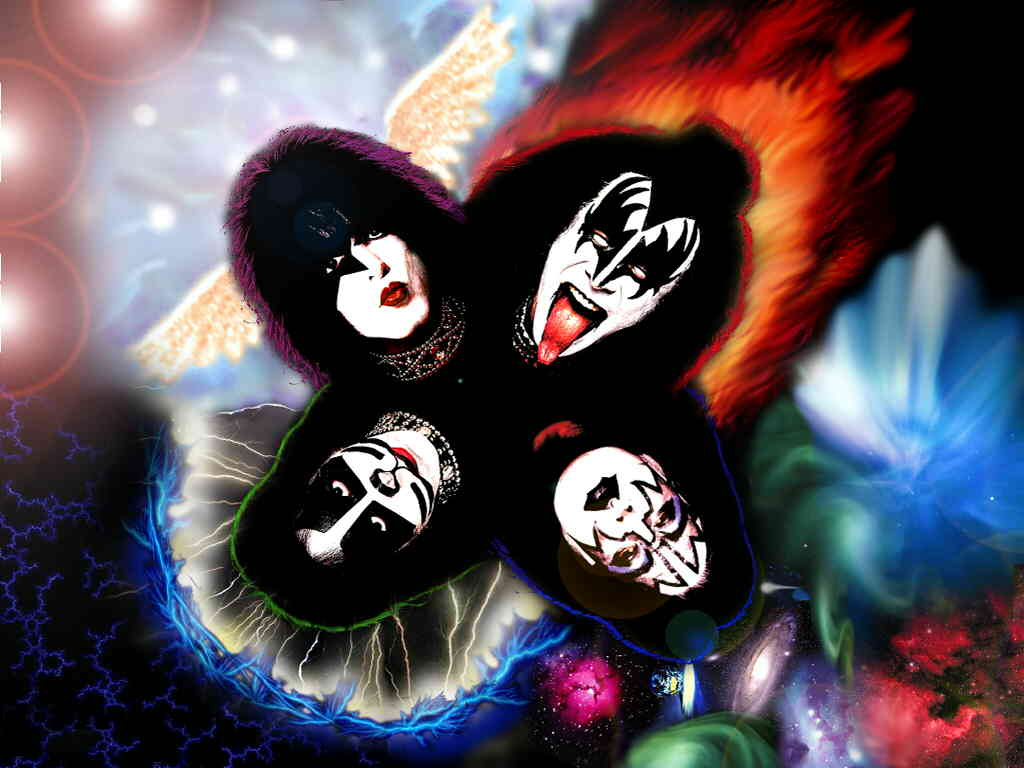 Love Kiss Wallpaper cartoon : Kiss Wallpapers - Wallpaper cave
