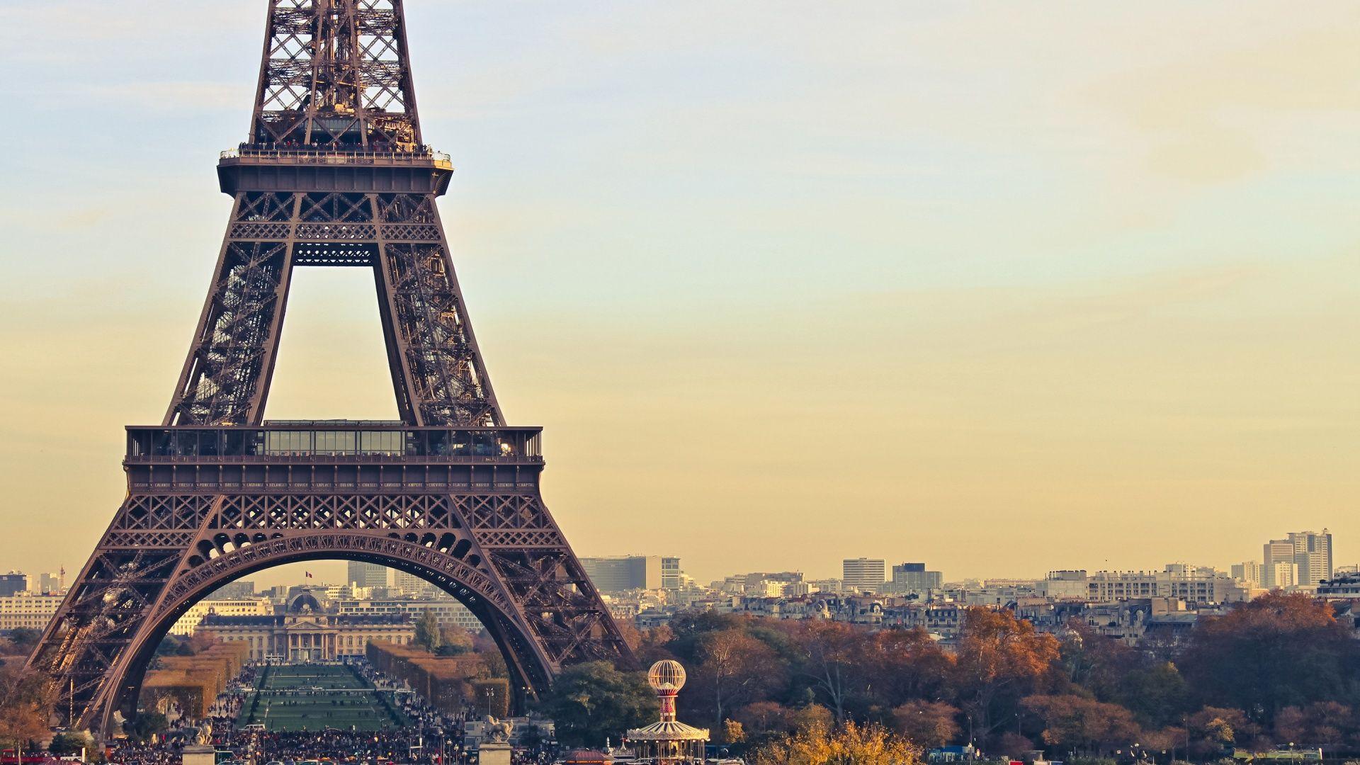 Hd wallpaper paris - Eiffel Tower Paris Full Hd Background Wallpapers
