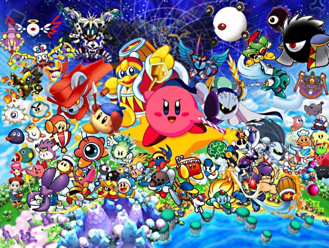 Kirby Wallpapers Wallpaper Cave