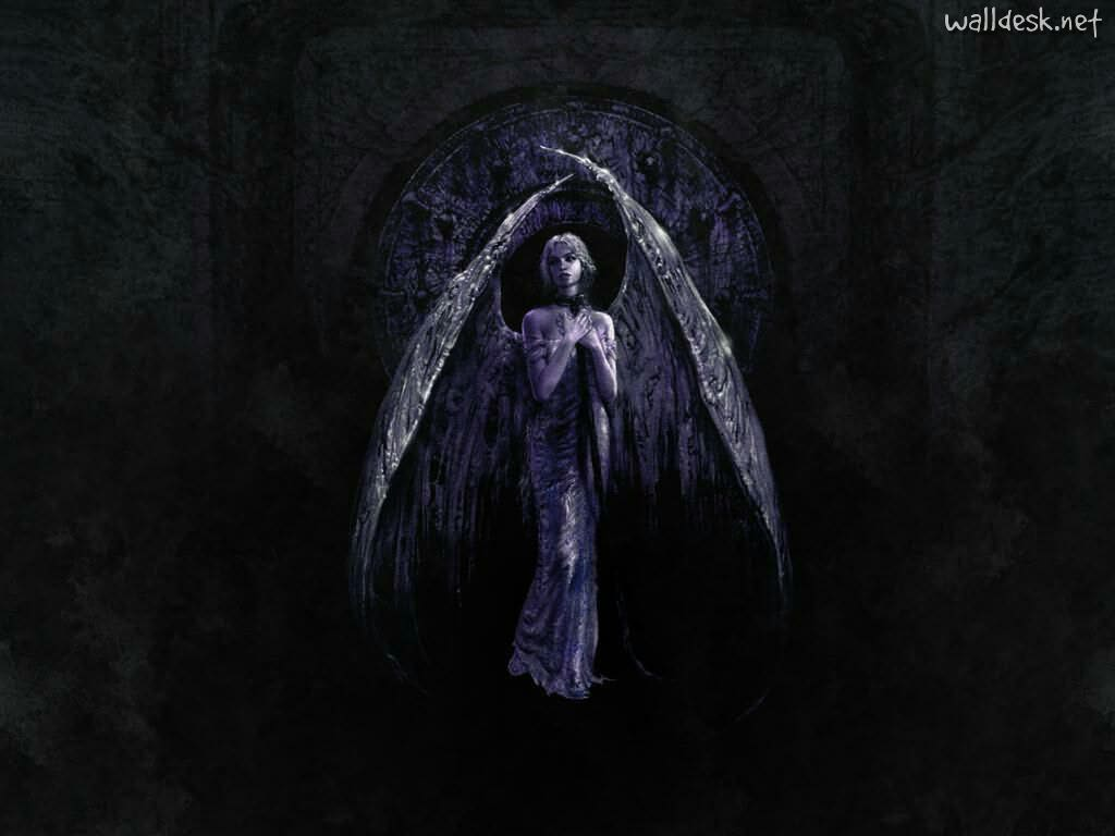 Goth angel wallpapers wallpaper cave - Dark gothic angel wallpaper ...