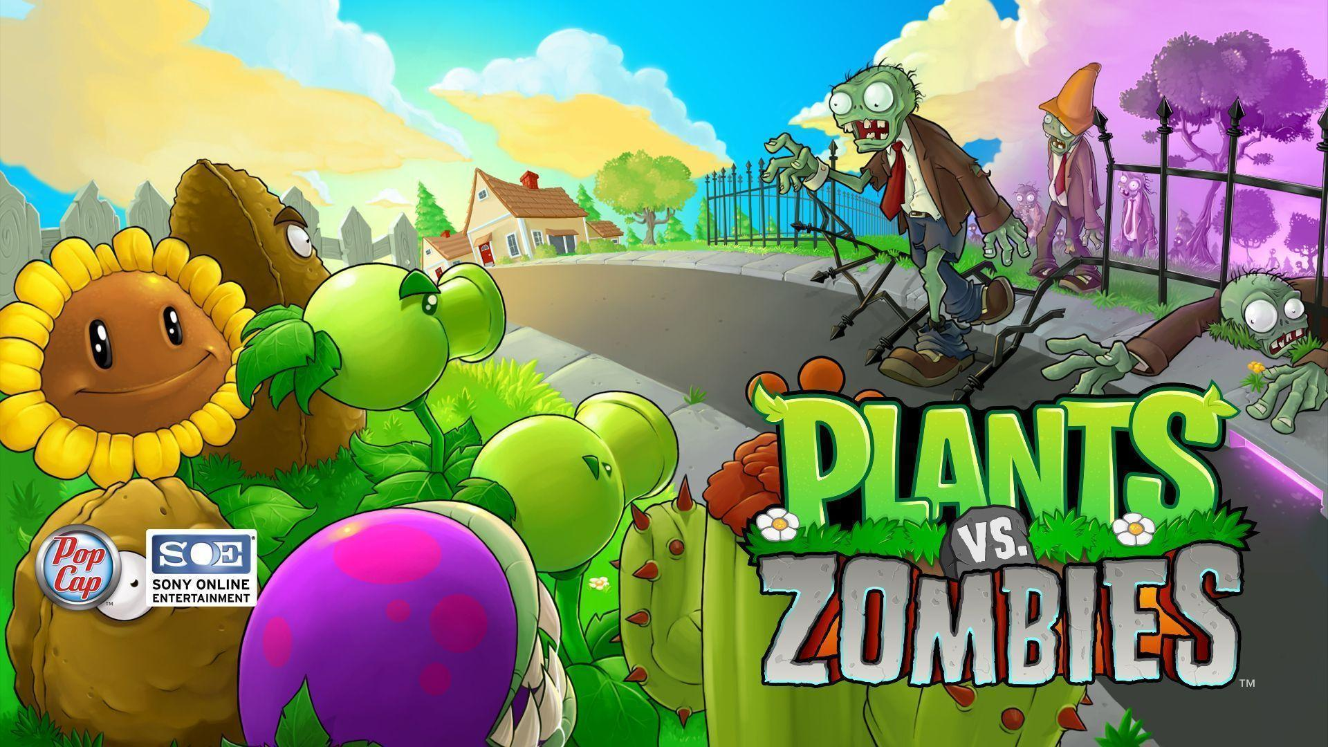 Plants vs zombies wallpapers wallpaper cave plants vs zombies playstation 3 goodies download toneelgroepblik Image collections