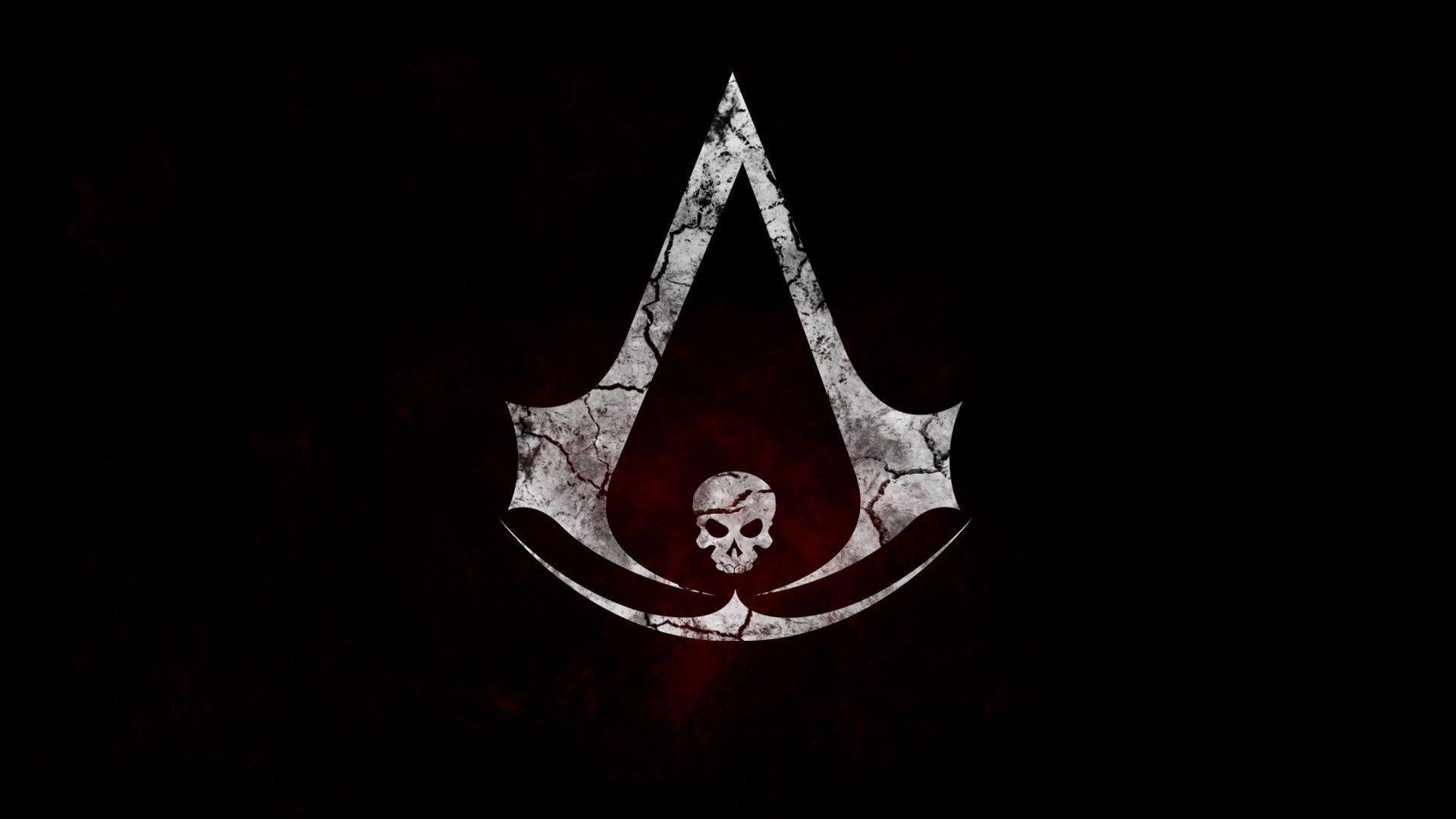 wallpapers for gt assassins creed black flag logo wallpaper