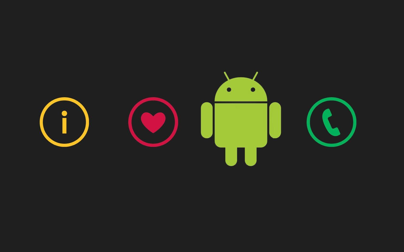 Love Wallpaper Line : Android Logo Wallpapers - Wallpaper cave