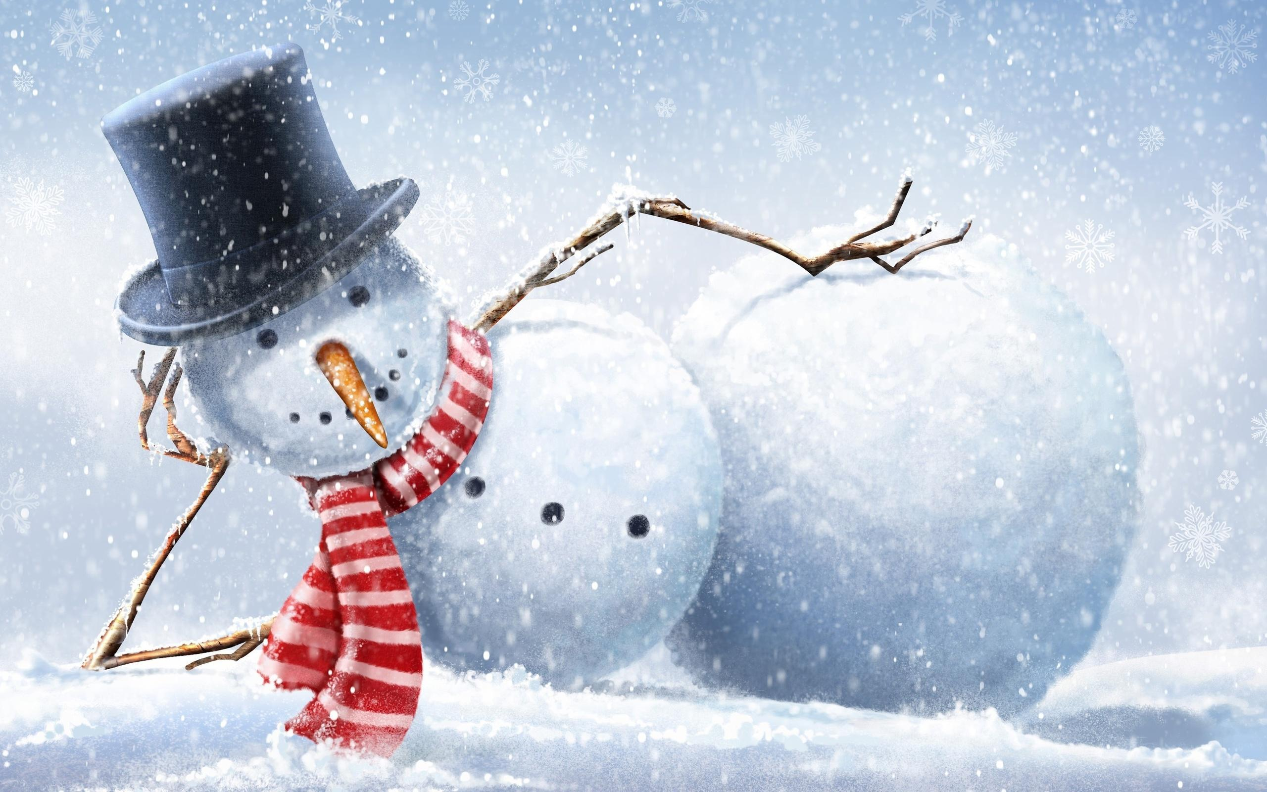Wallpapers For > Country Snowman Wallpapers