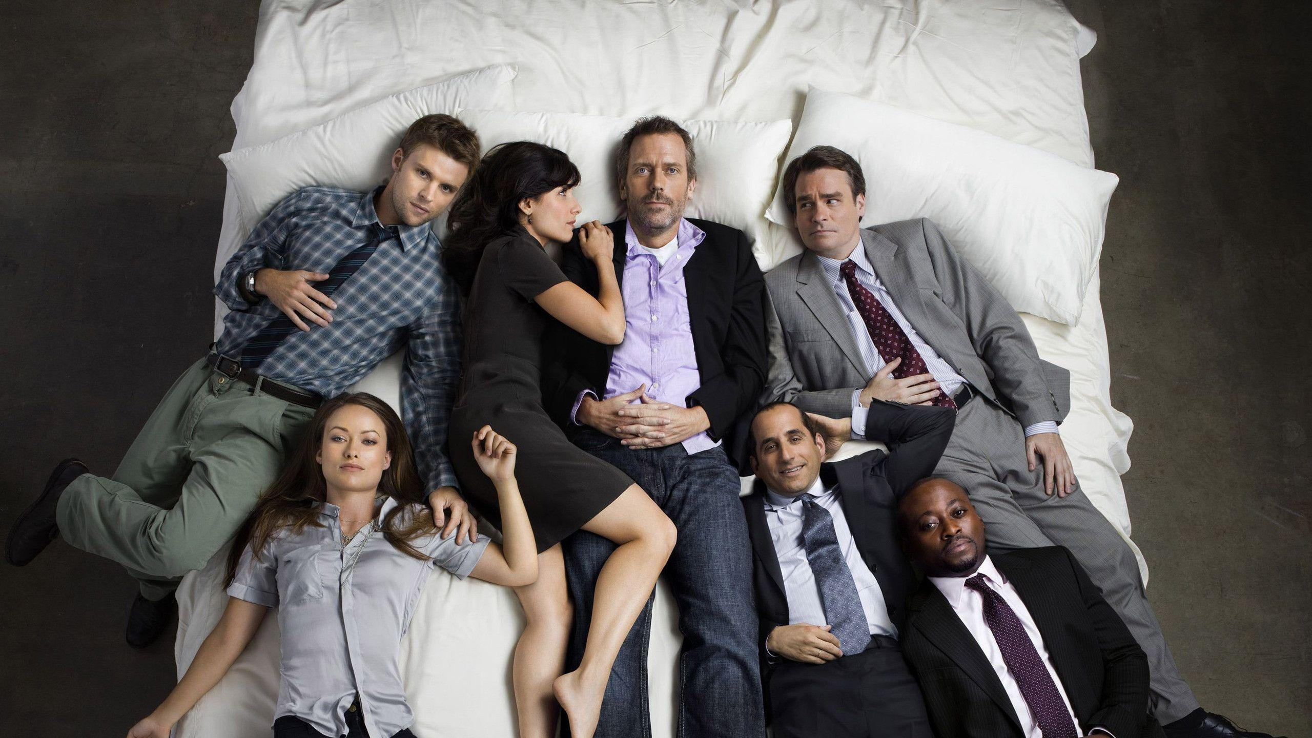 House MD cast Wallpaper #
