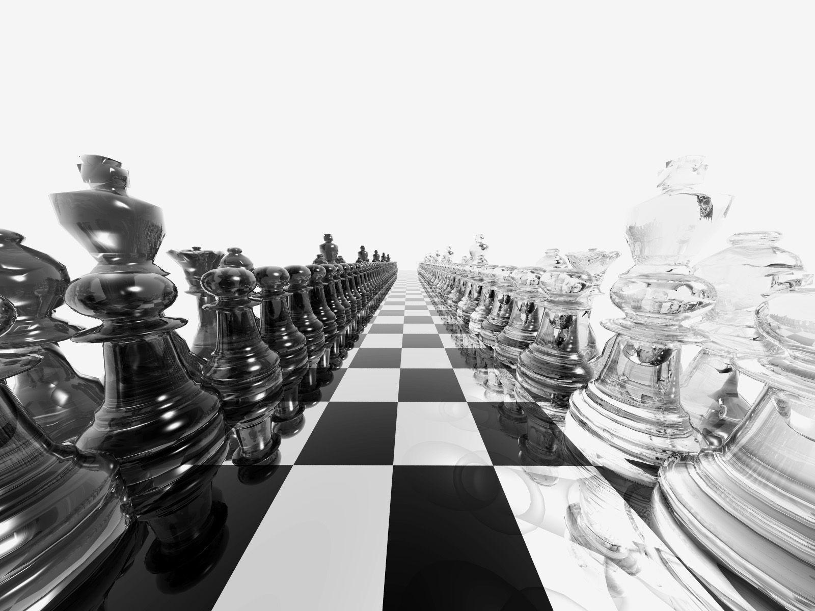 Chess Board balck and White Wallpapers