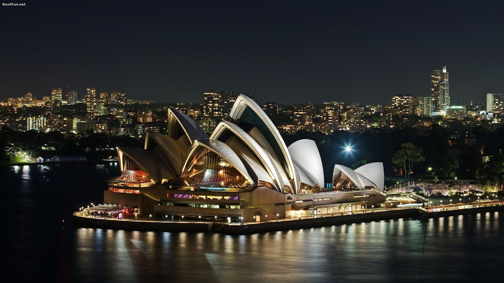 House wallpaper opera sydney world places travel images beautiful ...