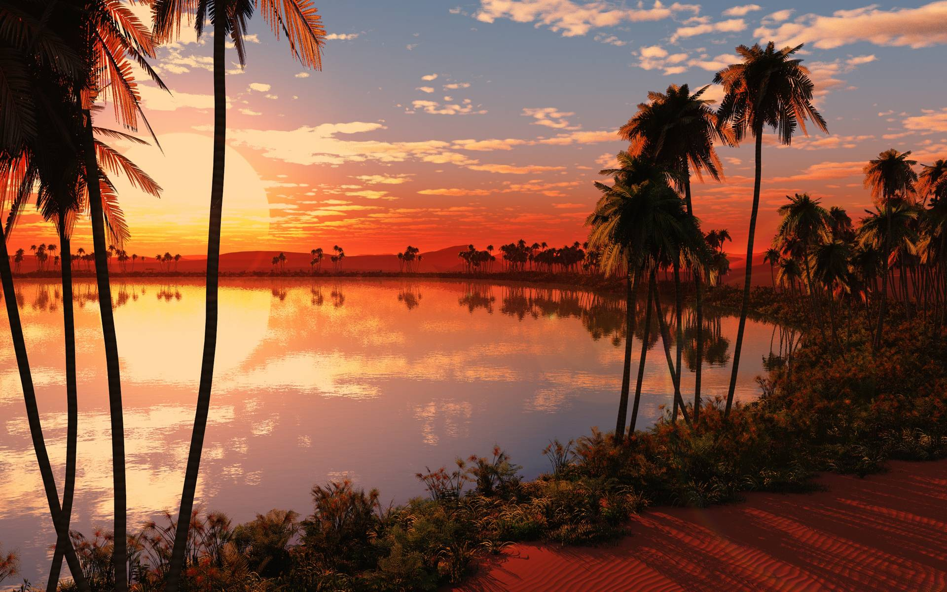 Tropical Sunset Pictures 30