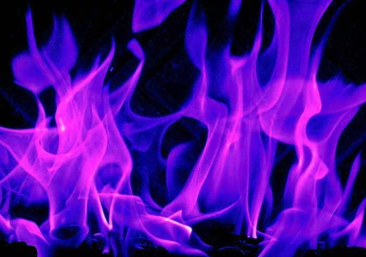 Cool Purple Fire Backgrounds Image & Pictures