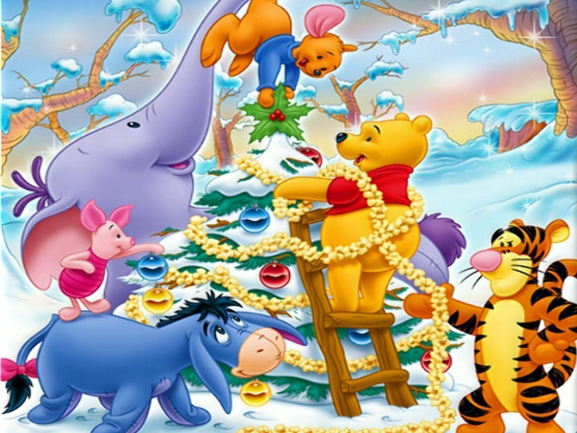 Winnie The Pooh Christmas Wallpapers - Wallpaper Cave