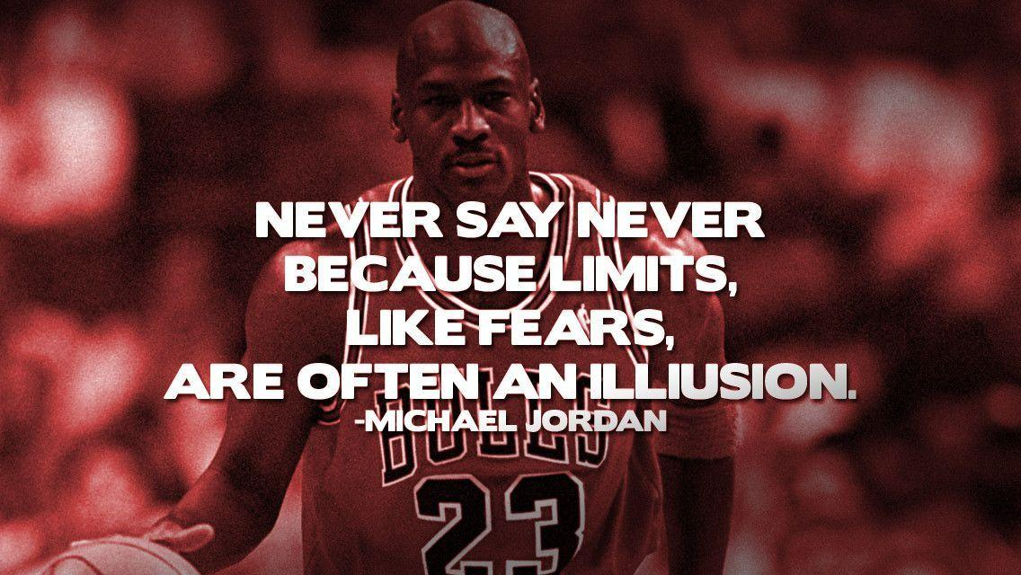 Famous Sports Quotes Wallpapers For Iphone: Michael Jordan Quote Wallpapers
