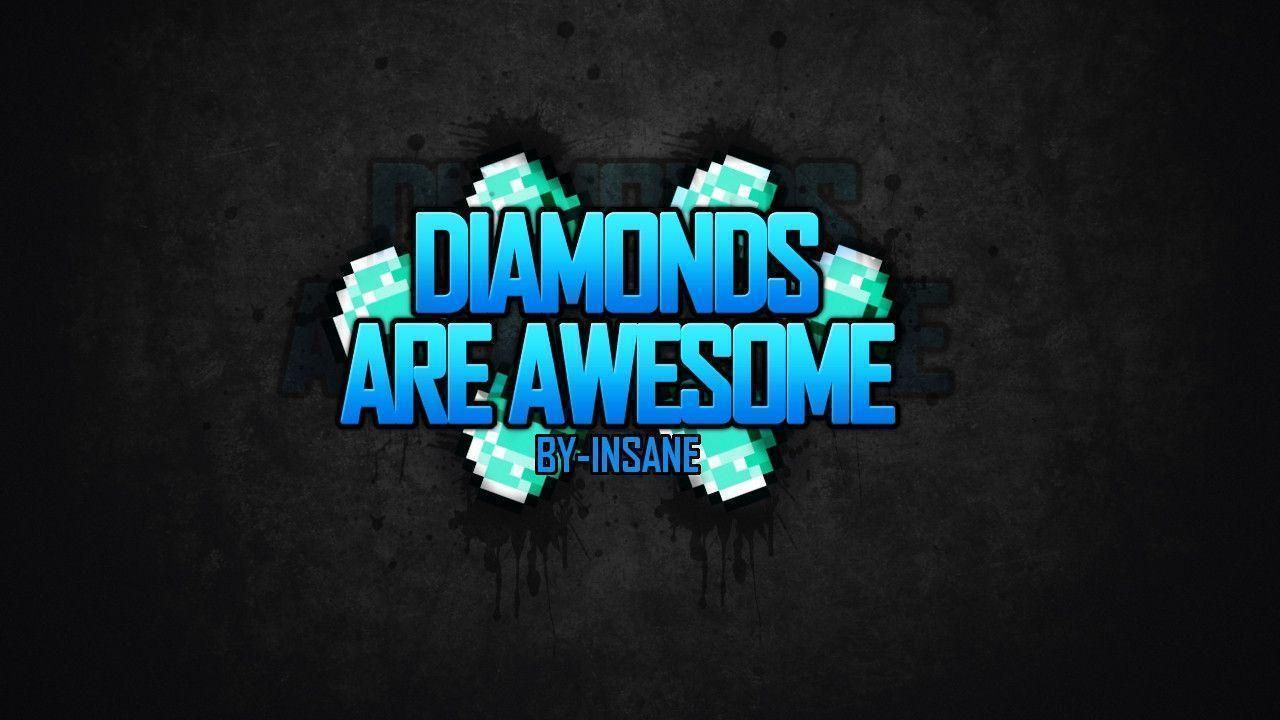 Minecraft Wallpaper Diamond Hd
