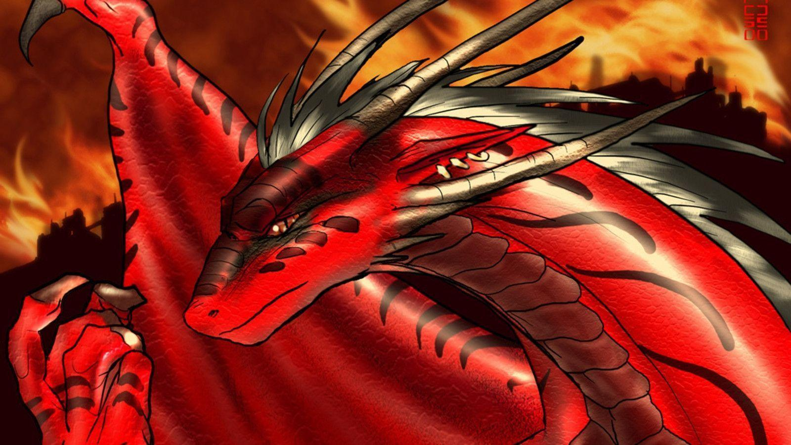 red dragons wallpaper - photo #19