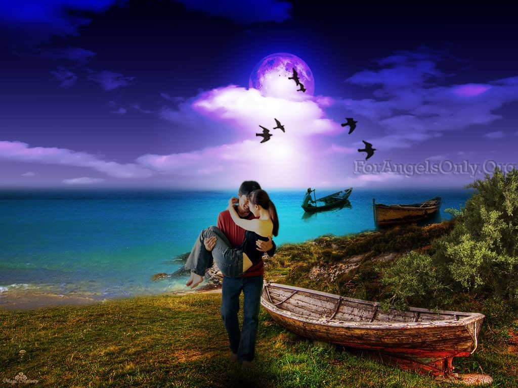Romantic couple wallpapers wallpaper cave - Couple wallpaper download ...