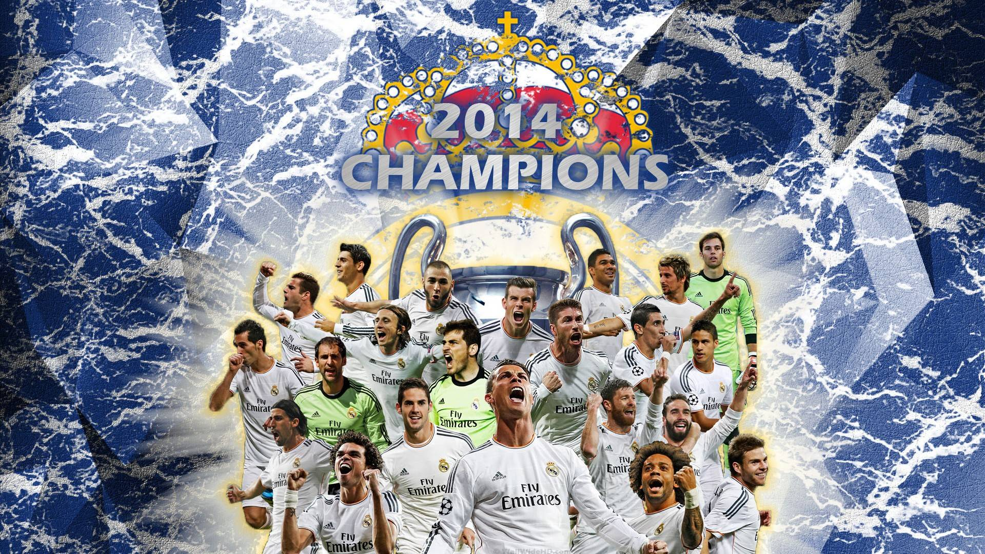Real madrid 2015 wallpapers 3d wallpaper cave 2014 uefa champions league final winners real madrid cf wallpaper voltagebd Gallery
