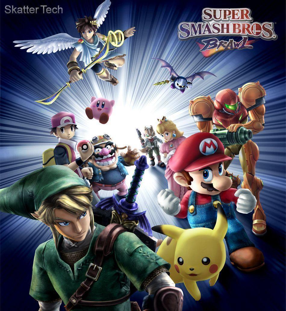 Download Super Smash Bros Brawl Wallpaper Gallery