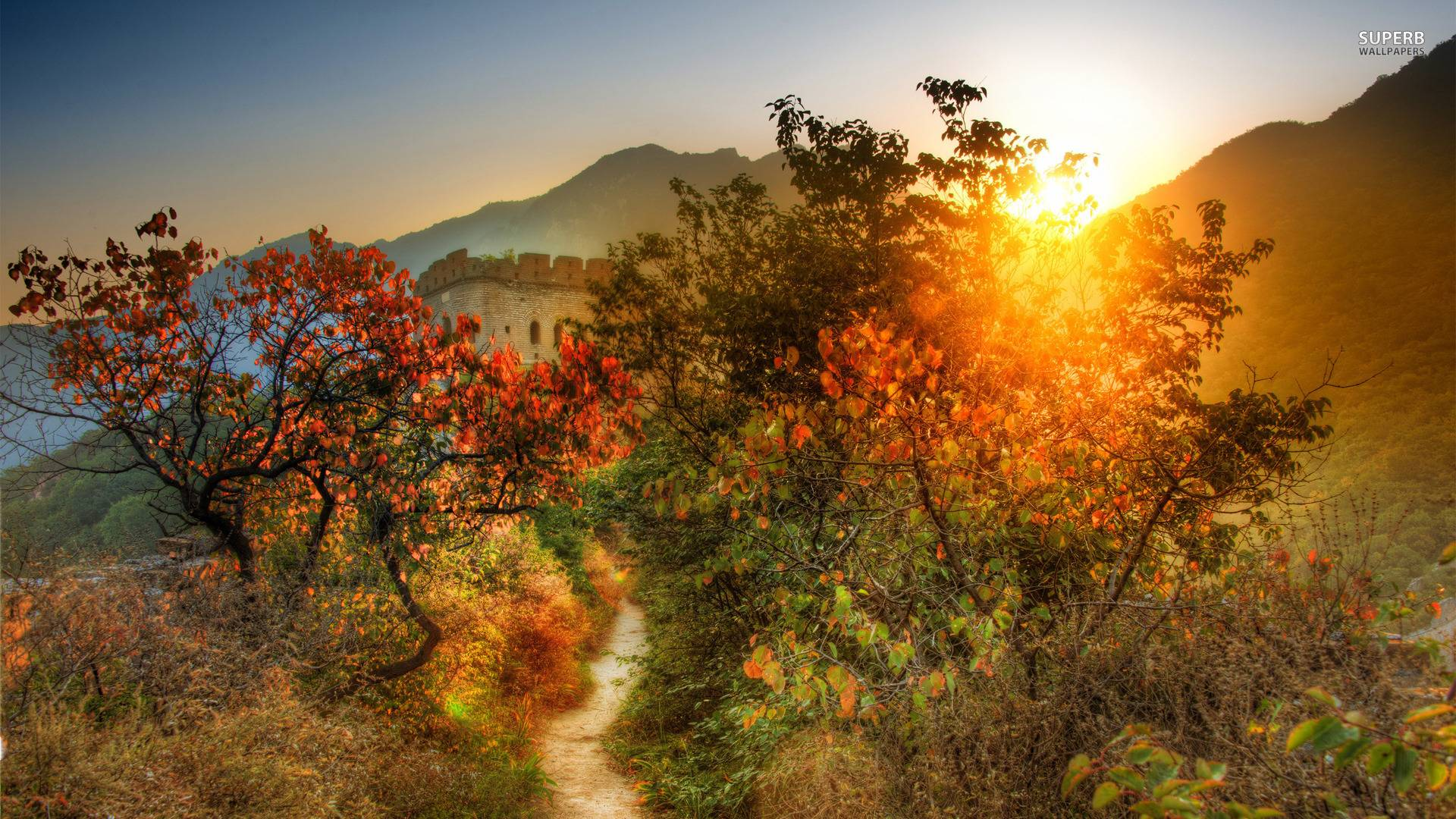 The great wall of china wallpapers wallpaper cave overgrown path to the great wall of china wallpaper world voltagebd Gallery