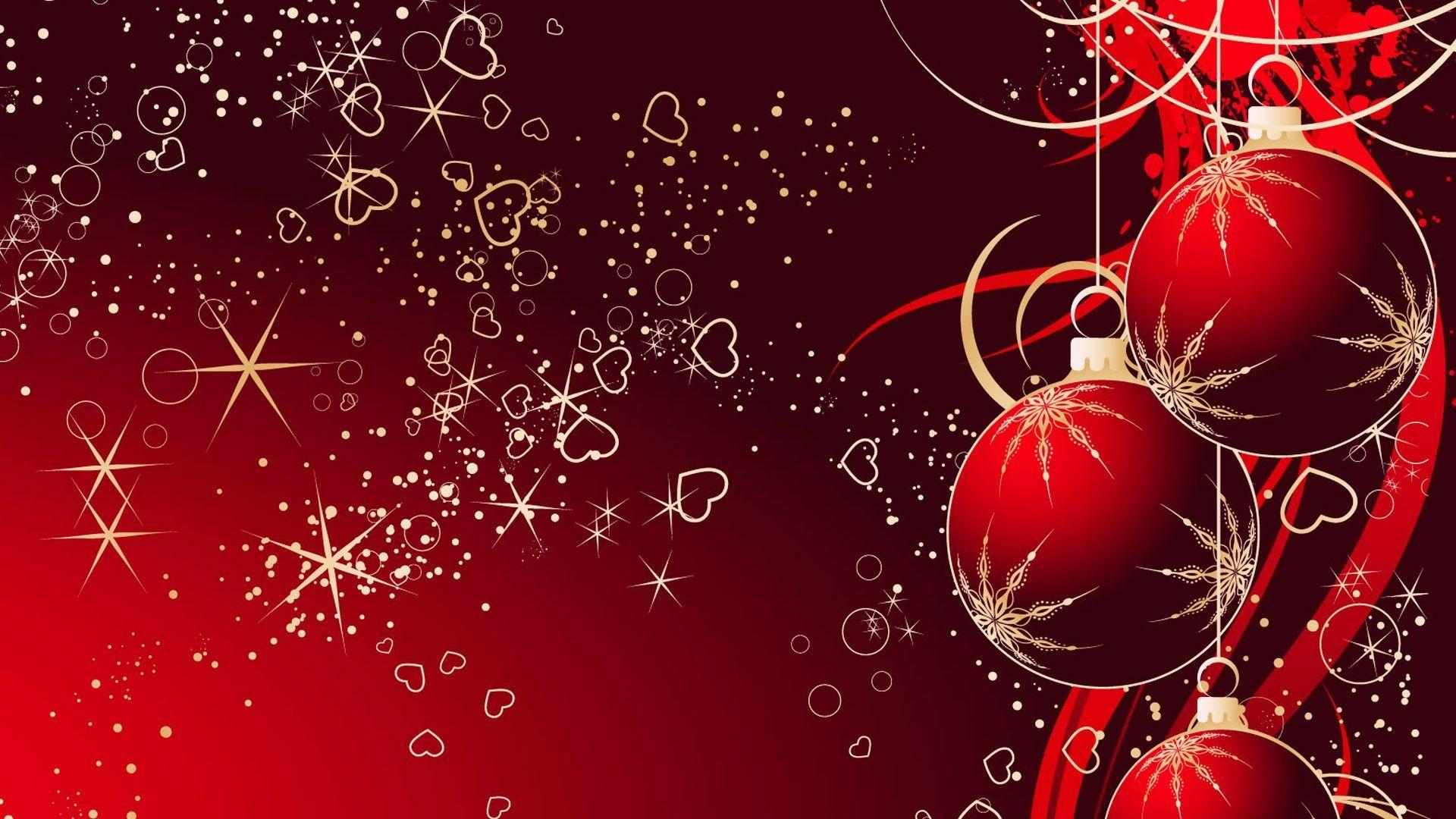 Red Christmas Wallpapers   Sky HD Wallpaper