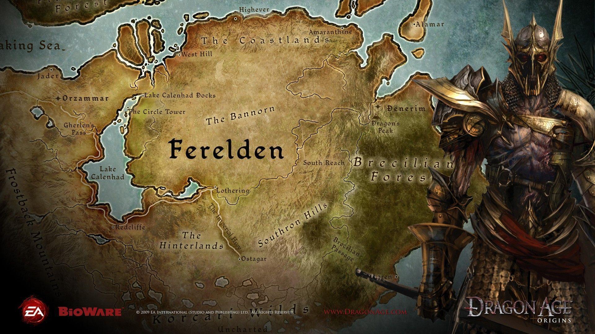 Dragon Age Origins Wallpapers Hd Wallpaper Cave