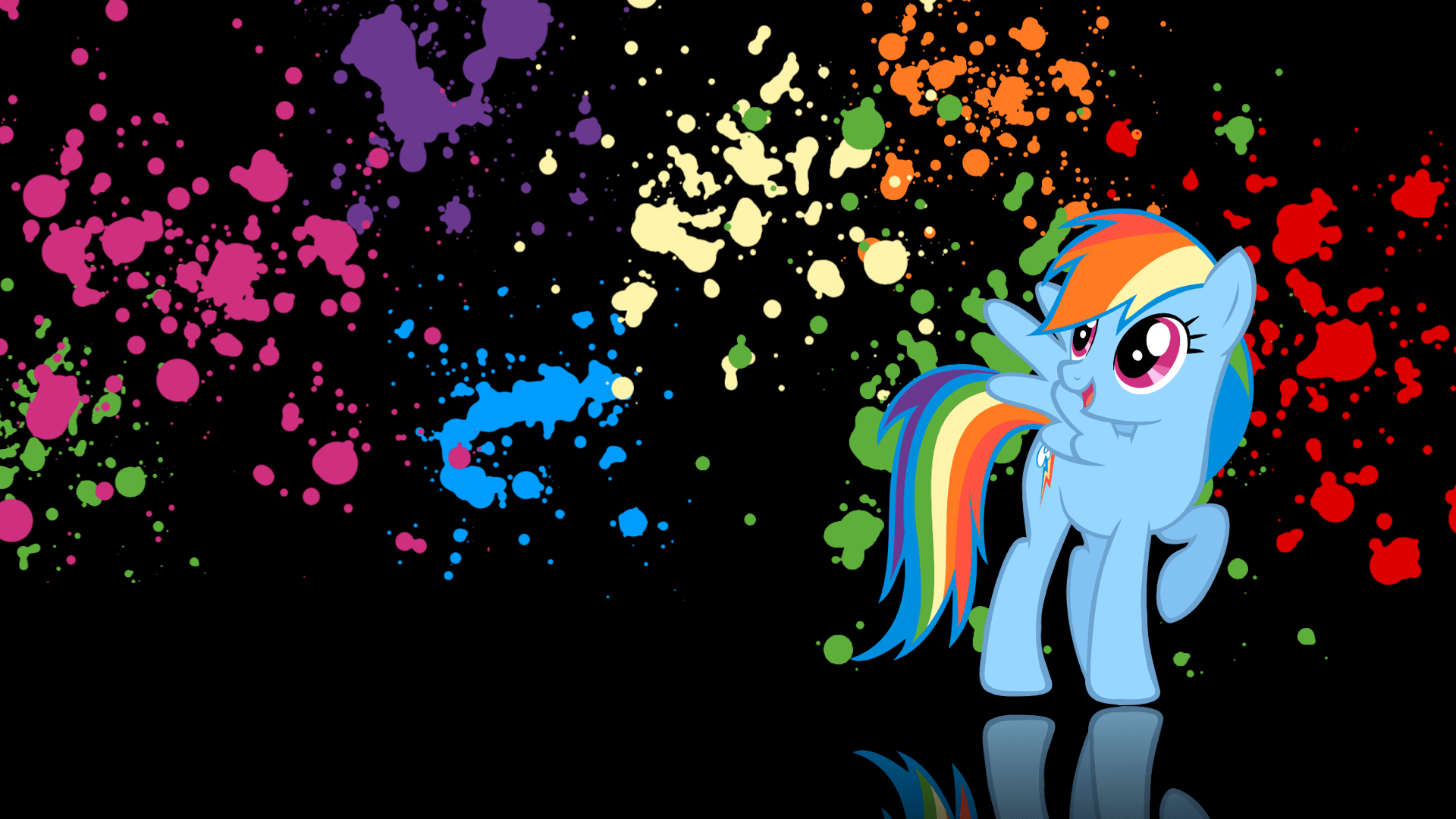 Paint Rainbow Girl Wallpapers: Rainbow Dash Wallpapers