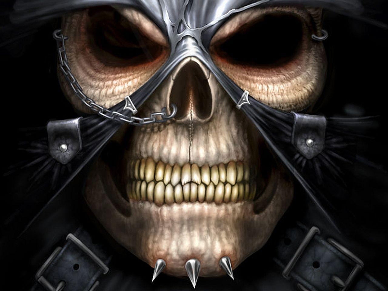 evil skull wallpapers screensaver - photo #44
