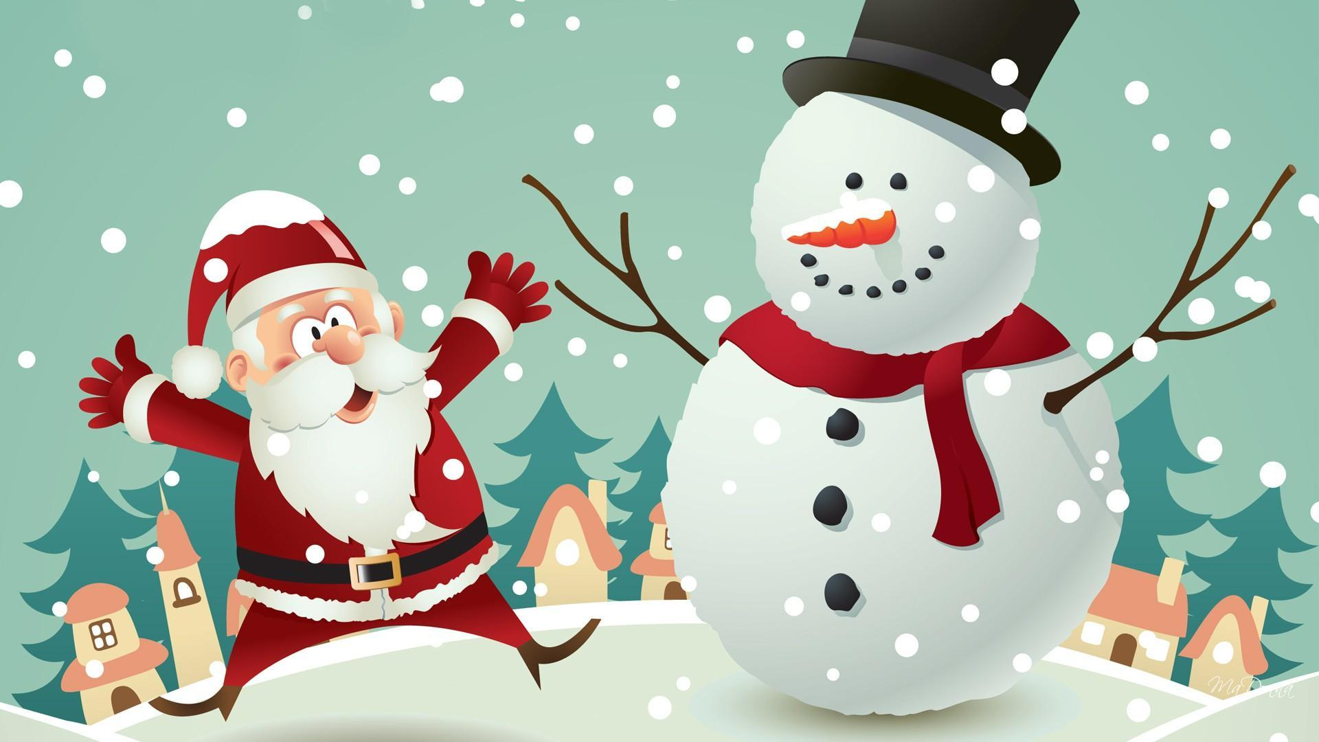 HD Christmas For Frosty Son Wallpapers