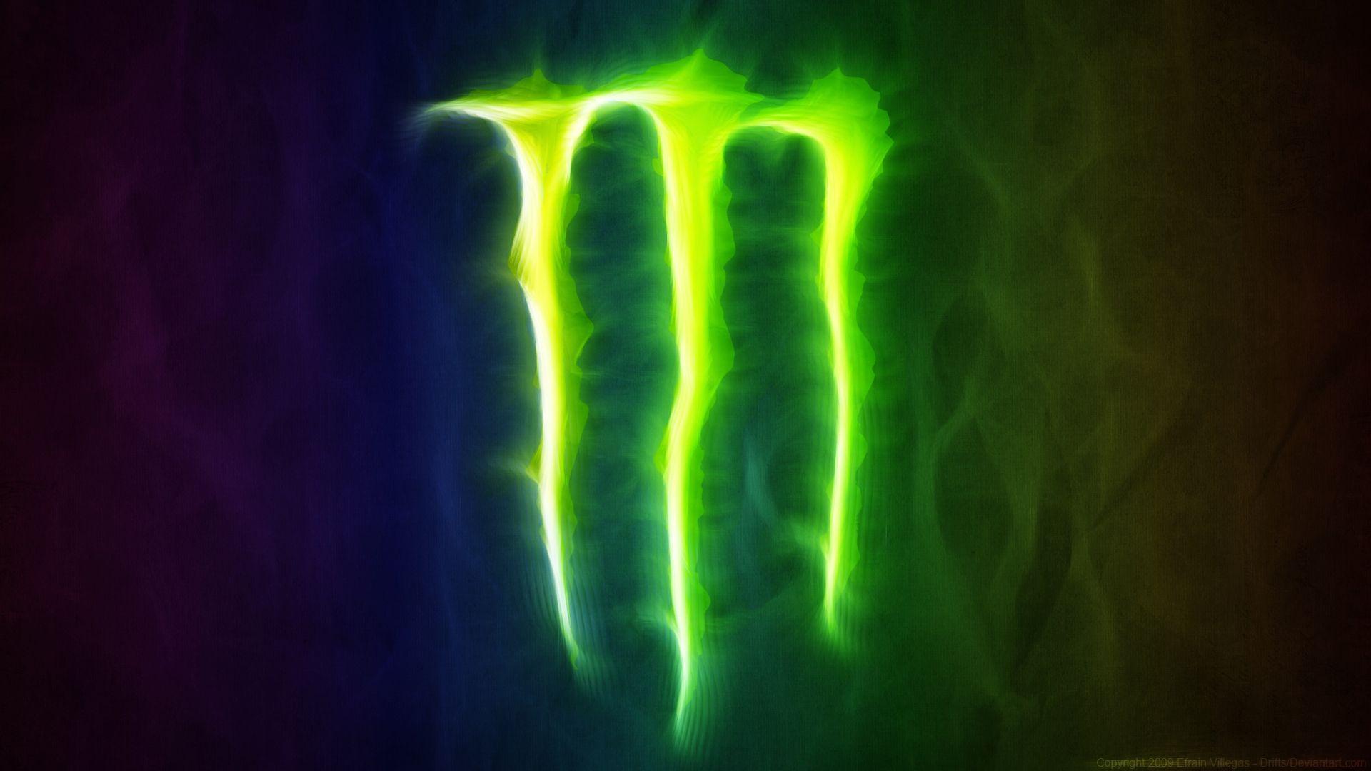 Monster Energy Drink Anime