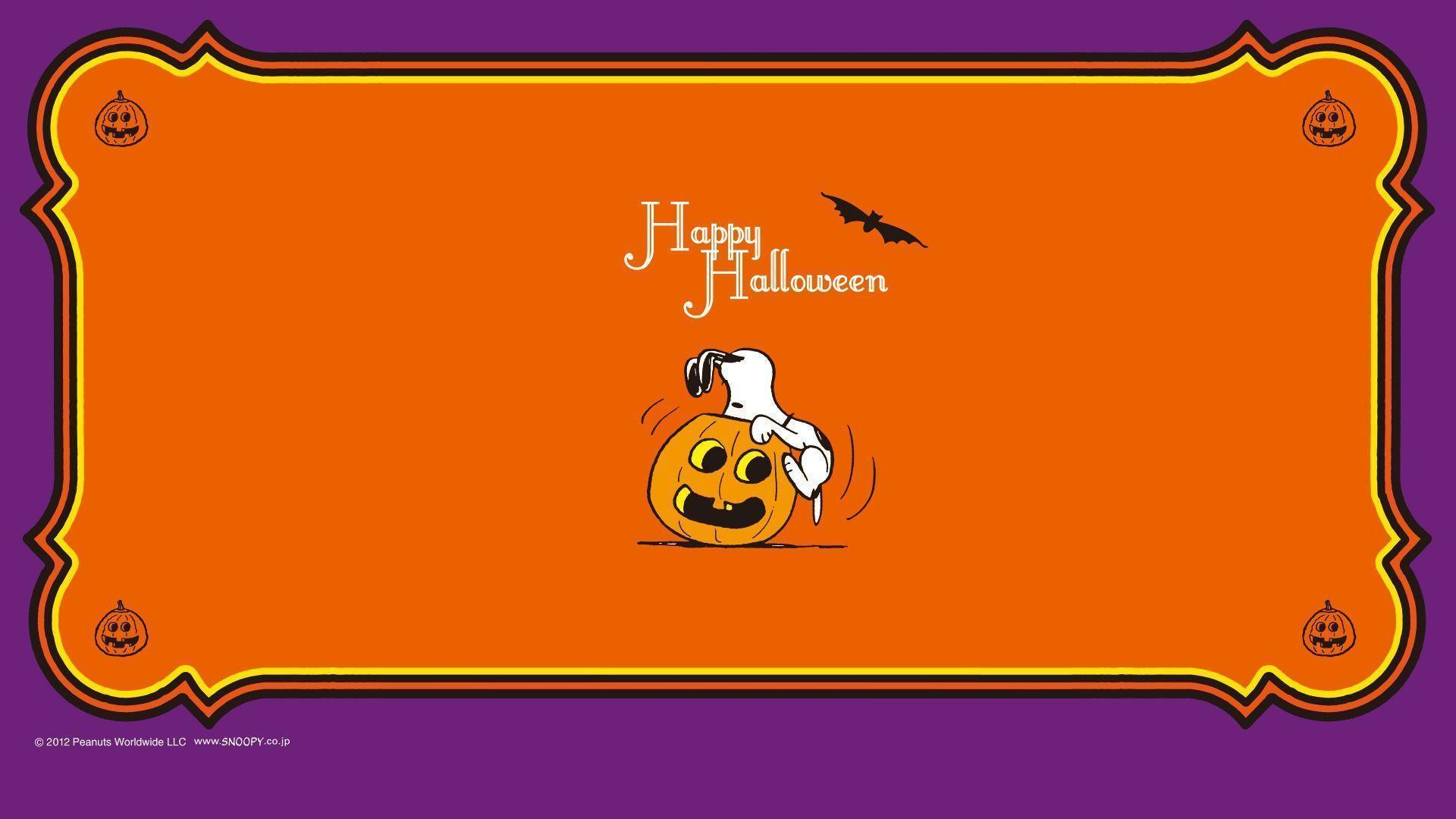 snoopy halloween wallpapers wallpaper cave