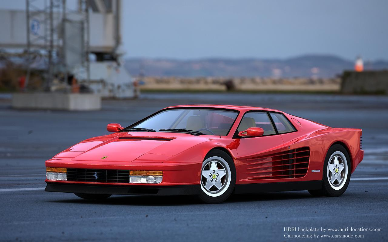 Ferrari Testarossa Wallpapers Wallpaper Cave