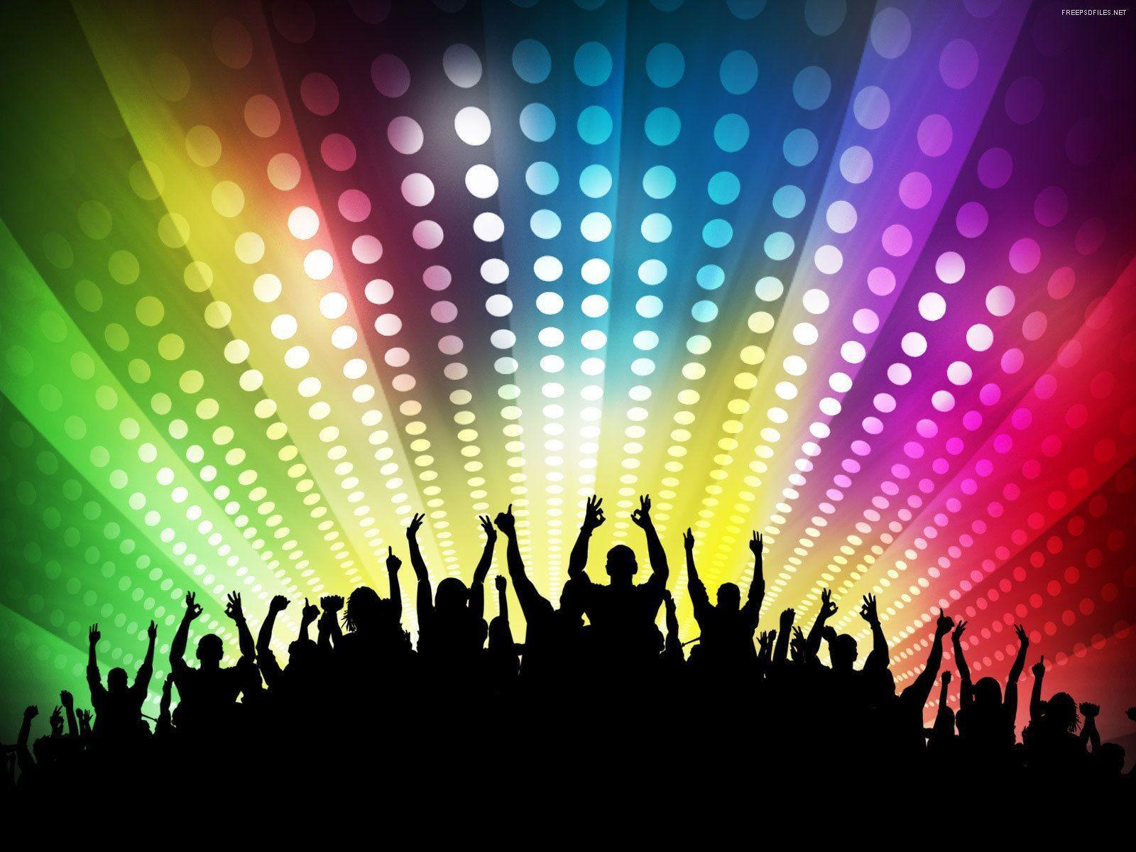 Party backgrounds image wallpaper cave for Disco house best