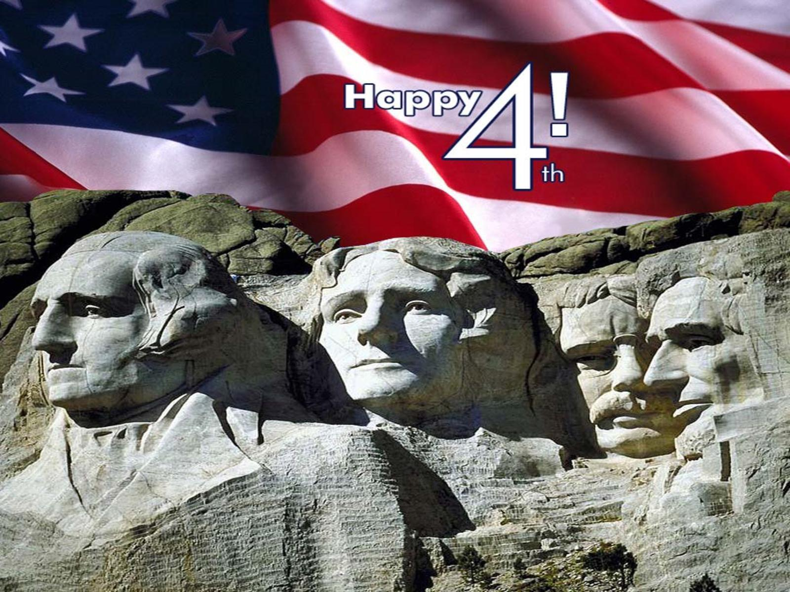Mont Rushmore happy 4th July free desktop background - free ...