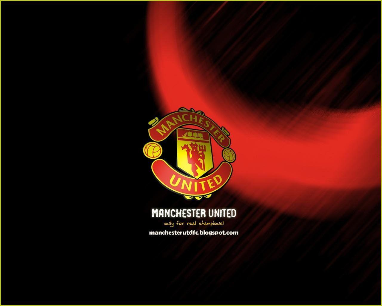 Manchester United Logo Wide HD Wallpapers For Desktop Backgrounds