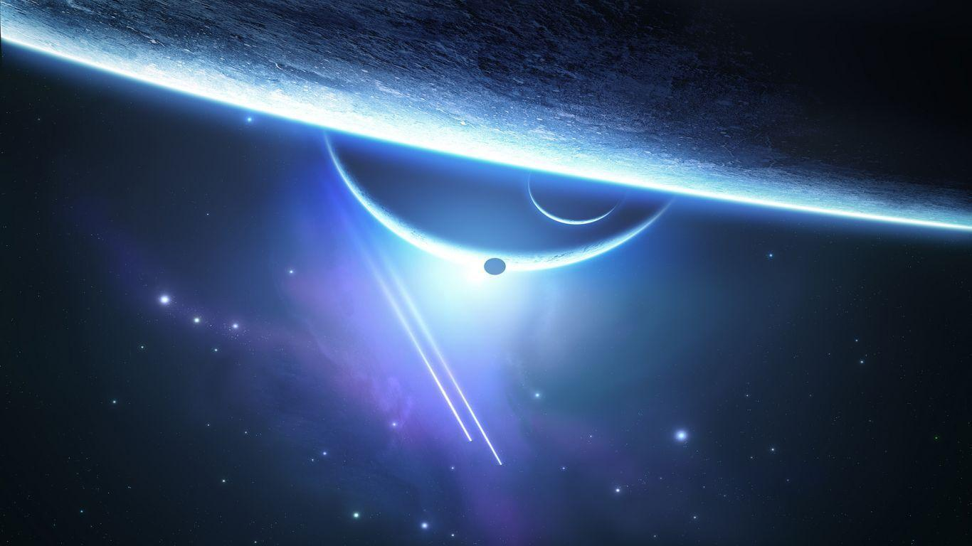 Space Wallpapers 1366x768 : Space Planet Wallpapers Resolution X