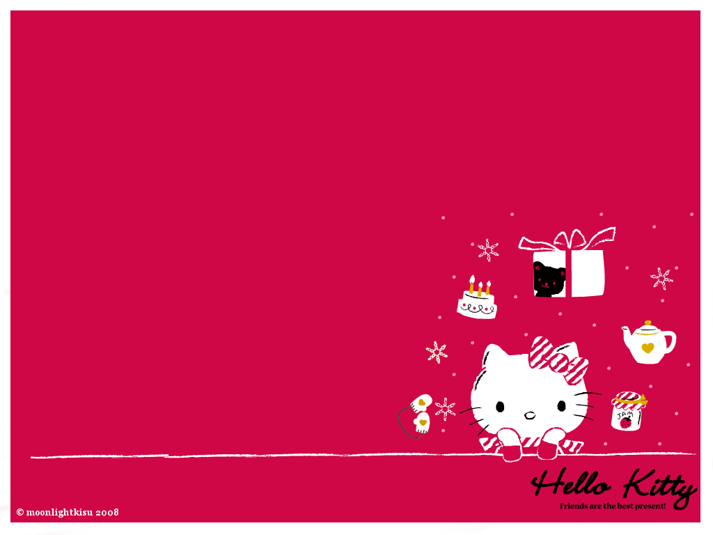 Hello Kitty Valentines Wallpapers Wallpaper Cave