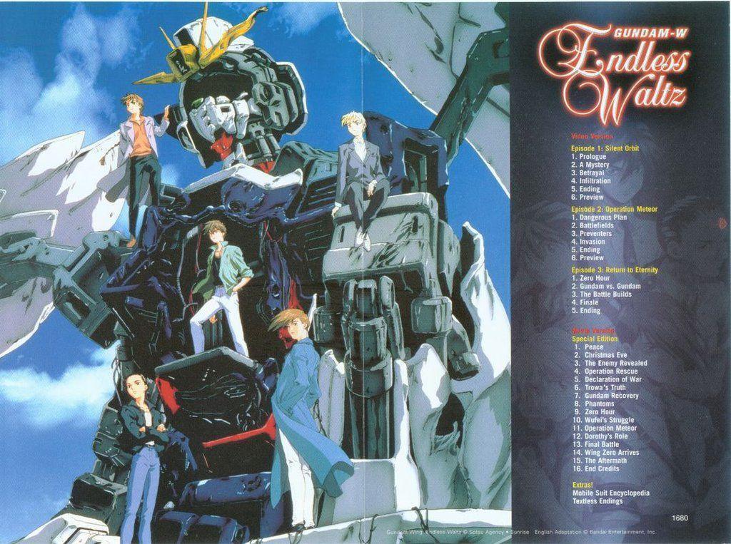 Gundam Wing Endless Waltz Anime Movie Classics Details
