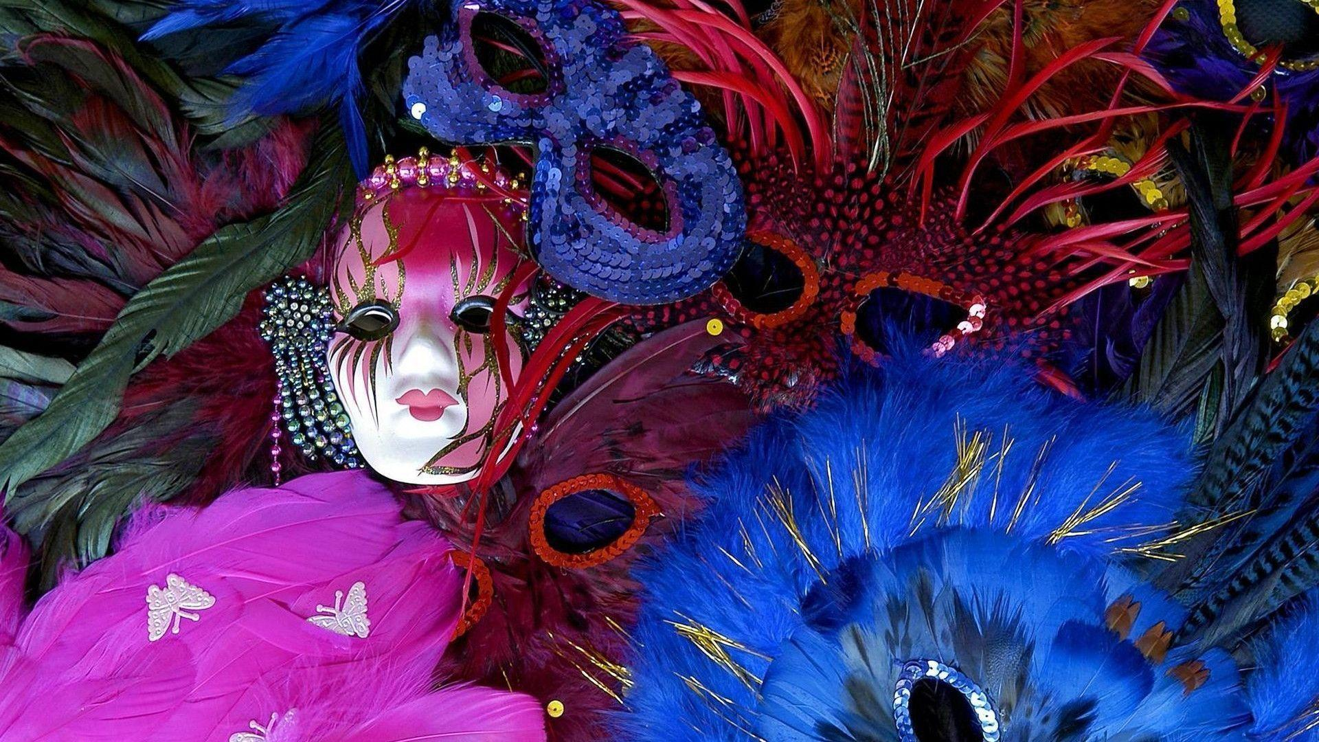 Enjoy our wallpapers of the month!!! Mardi Gras
