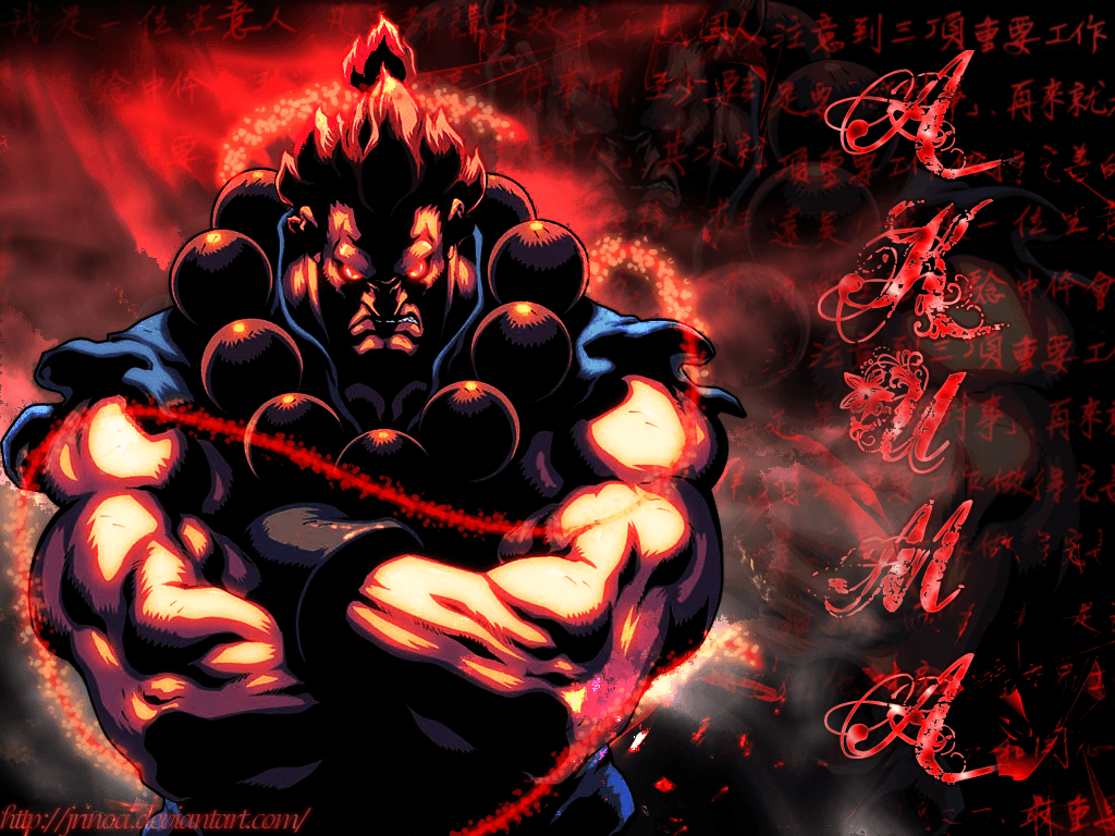 10 Characters Who Can Beat Akuma By Kirk327 On Deviantart