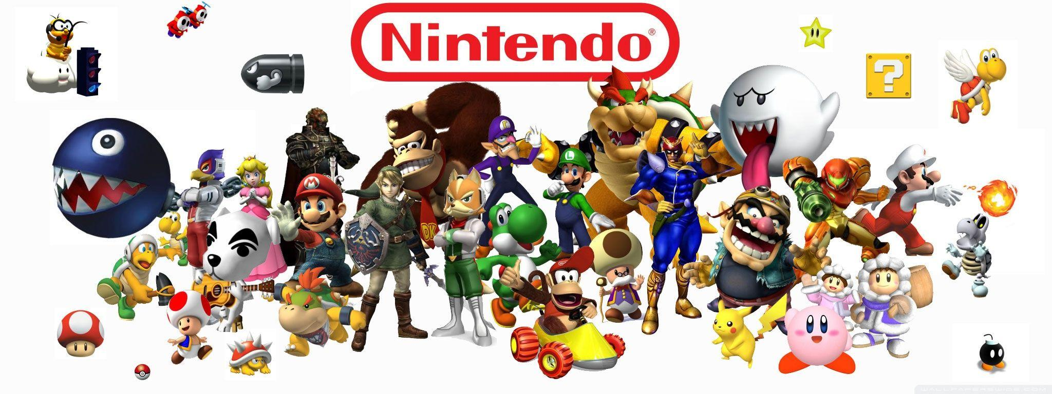 Image - Nintendo-wallpaper-2048x768.jpg - The Nintendo Wiki - Wii ...