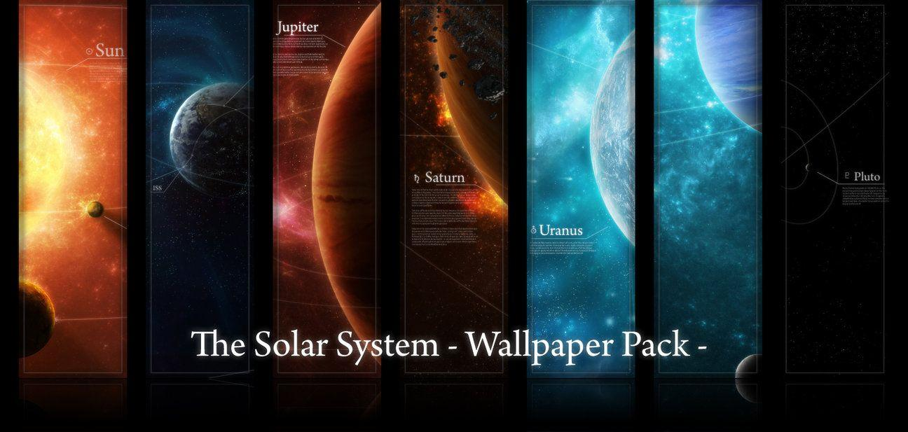 Wallpaper Pack : Solar System by licoti on DeviantArt