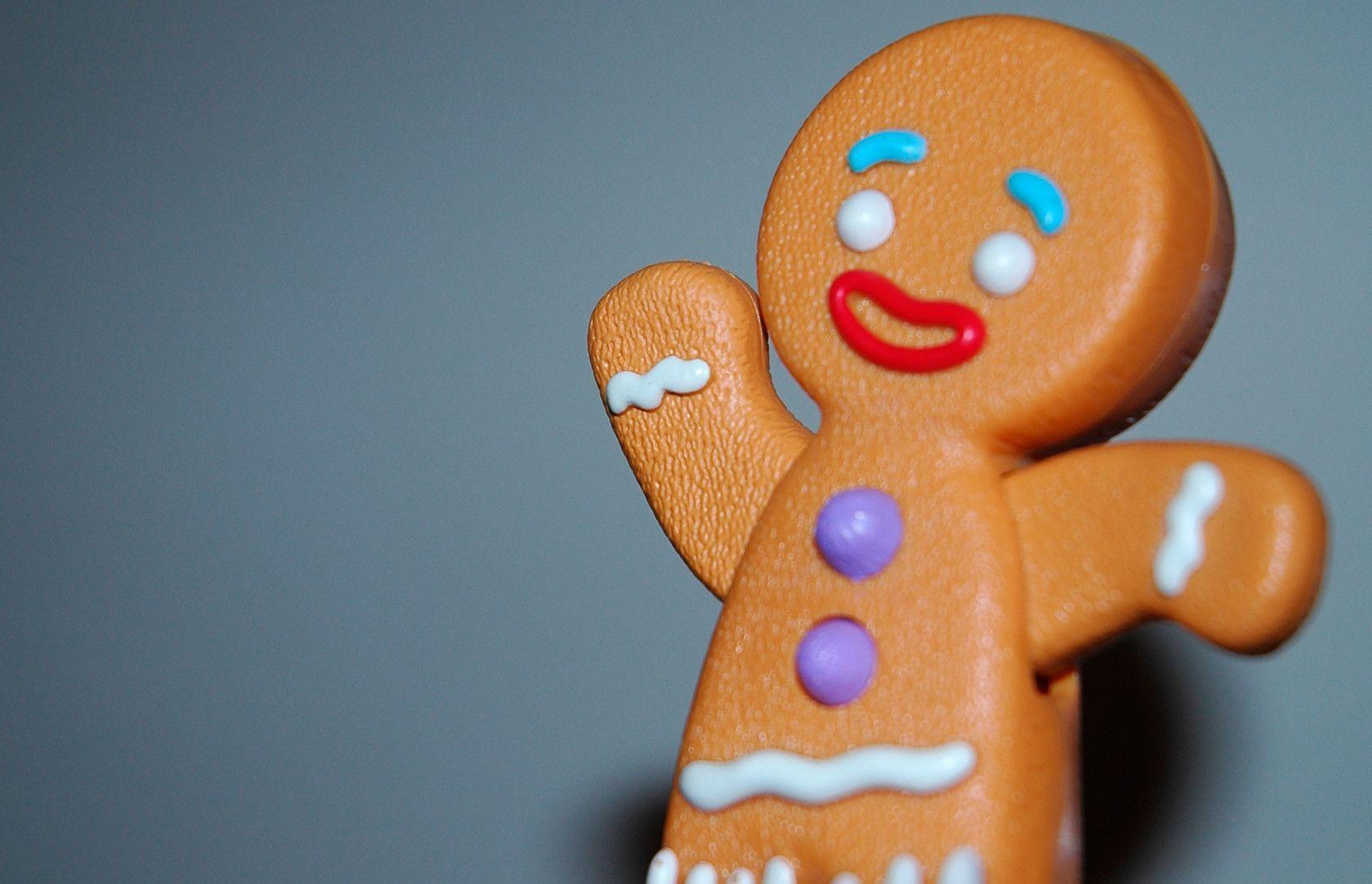 Gingerbread Man Wallpapers - Wallpaper - 147.0KB