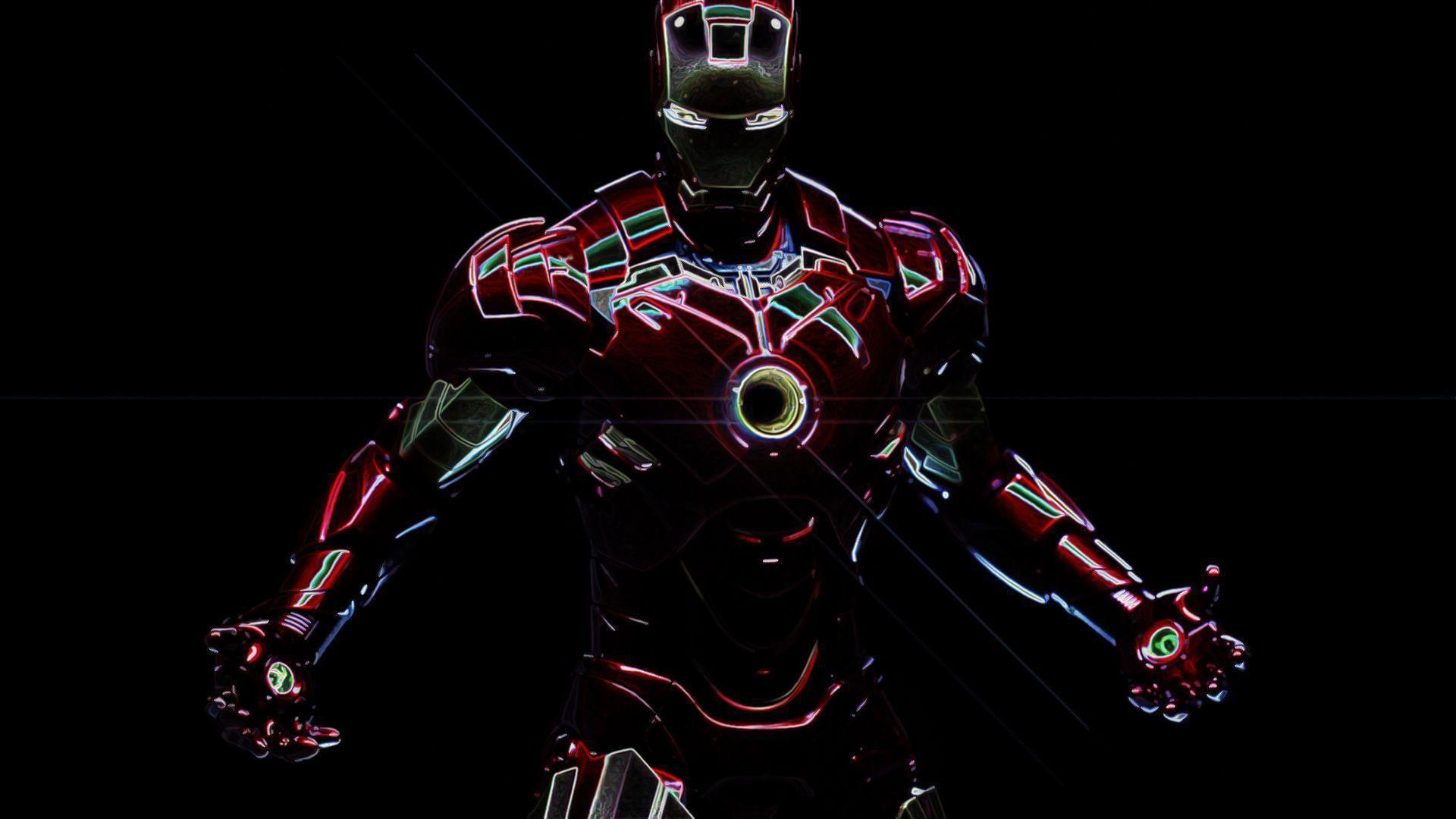Ironman Artwork #9718 Desktop Wide | Goodwallpaperdesktop.