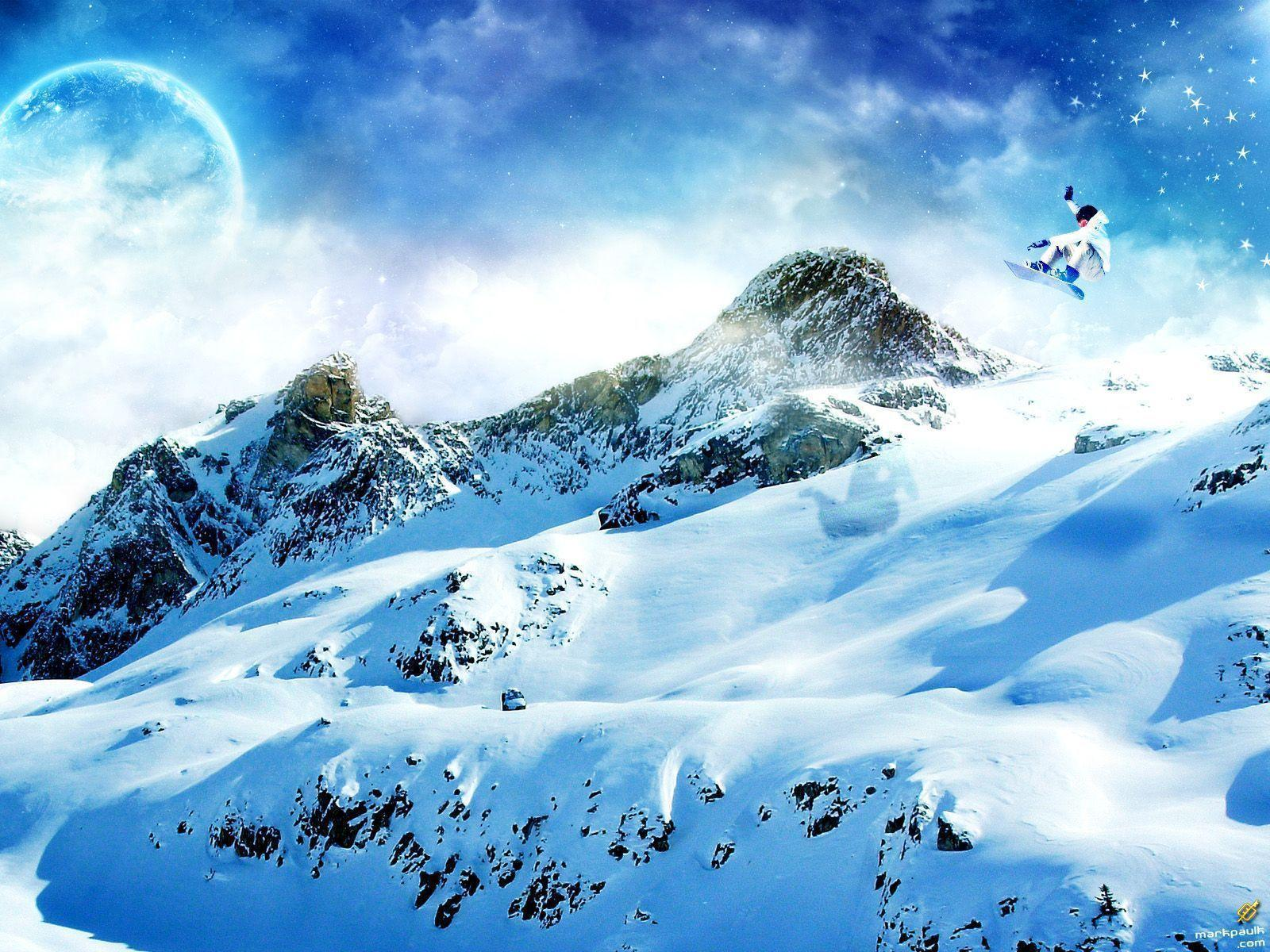 49 Snowboarding Wallpapers | Snowboarding Backgrounds
