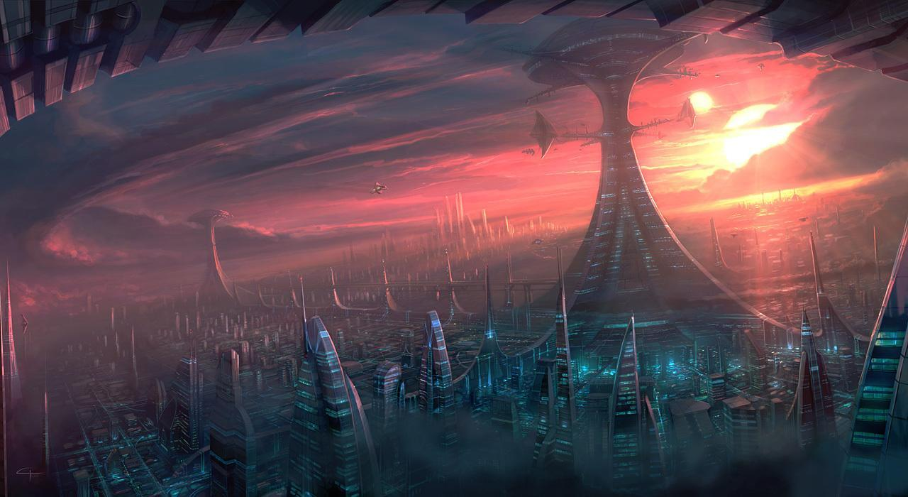 sci fi backgrounds - photo #49