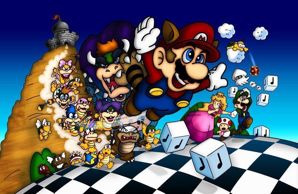 Super Mario 3 Wallpapers Wallpaper Cave